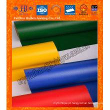 Tecido revestido impermeável UV PVC tratado