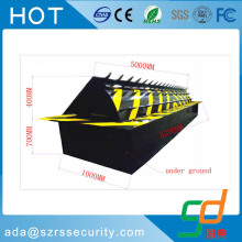 roadway safety traffic remote automatic hydraulic blocker