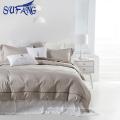 Baumwolle weiß Bettwäsche Set günstig Bettbezug Textil