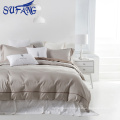 cotton white bedding set cheap Duvet Cover textile