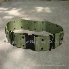 Ceinture de sangle de nylon de l'armée de la ceinture militaire (HY-WB001)