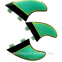 G5 set thruster honebycomb color ligero aletas aletas de carbono