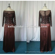 Elegante mãe dos vestidos de renda noiva M01