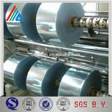 Aluminio mylar metalizado lable película