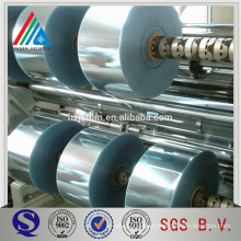 aluminum mylar metallized lable film