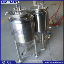 stainless steel micro beer brewery fermenting tanks
