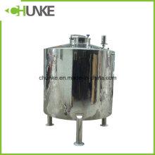 Ss 304/316 Steril Tanque de Armazenamento de Água para a Indústria Alimentar