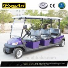 6 мини-Электрический sightseeing местный автобус для продажи