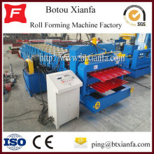 Double Layer Glazed Tile/Roof Panel Roll Forming Machine
