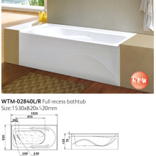 Left Drain and Right Drain America Standard Apron Bathtubs