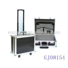 equipaje de la carretilla de aluminio portable por mayor con marco fuerte y fabricante de esquina