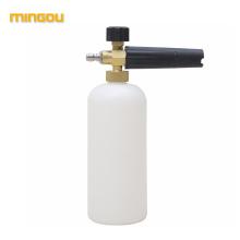 Chine fournisseur mousse lance pression laveuse multifonction détergent savon bouteille mousse canon bouteille de remplacement