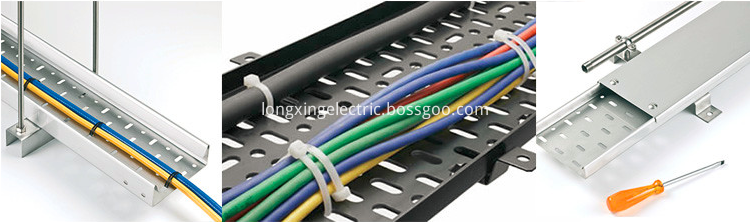Aluminum Alloy Tray Cable Tray Display