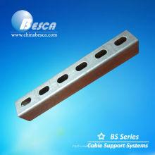 Bandeja de cable de metal del canal del conducto de alambre del canal C