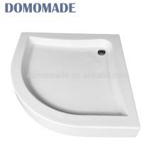 Hohe Qualität verkauft auf weißem glattem festem Oberflächenduschebecken