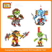 Лучшие продажи LOZ пластиковые блоки игрушки DIY игрушки