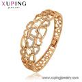 52157 xuping moda bien plateado joyería india brazalete de cobre ambiental