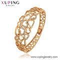 52157 xuping fashion good plated indian jewelry environmental copper bangle