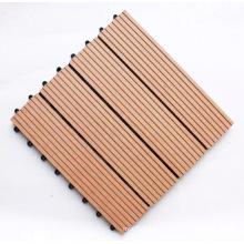 WPC DIY Decking Tiles/swimming pool wood decking flooring
