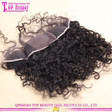 Best selling high quality 100% unprocessed virgin peruvian hair silk base lace frontal closure