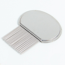 Good Quality for Pet Flea Comb Stainless Steel Louse  Nit Comb export to China Taiwan Supplier