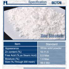 additifs en plastique de lubrifiant d'application de poudre de stéarate de zinc