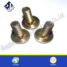 Asme Standard Carriage Bolt with Yellow Zinc