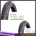 Black Air Tire 2.75-17 avec motif populaire