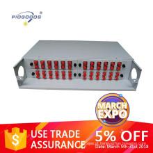 PG-ODF2026 19inch Fixed Rack-Mount Quadro de Distribuição de Fibra Óptica, 12-96 núcleos de capacidade, FC / SCLC / ST adaptador disponível