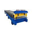 single deck metal glazed profile roll forming machine
