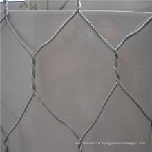 Caillebotis hexagonal galvanisé de cage de lapin