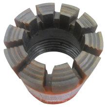 Botón de rosca de acero de carbón Broca de broca de roca Broca de botón