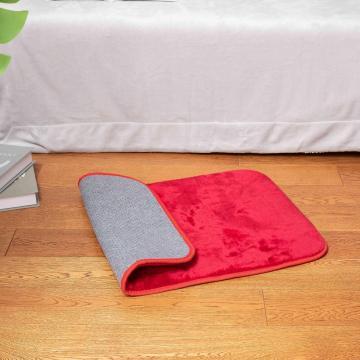 моющийся коврик для коврика с твердым полом