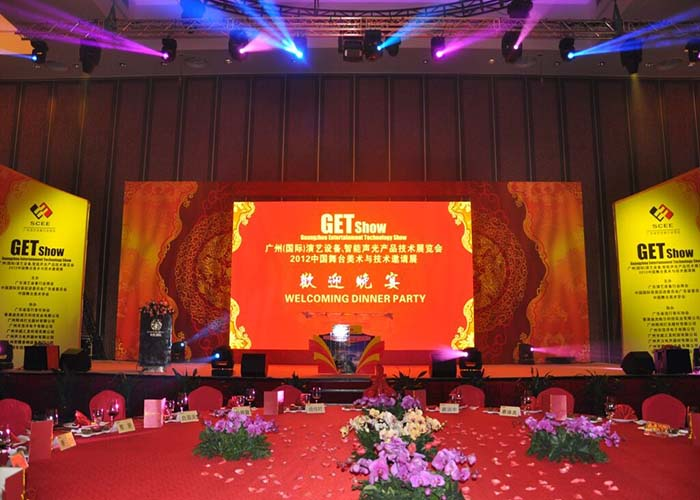 Light Weight Cabinet Stage Rental LED Display