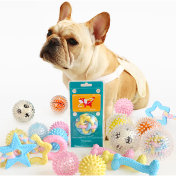 Durable Chew Rubber Dog Toys Ball
