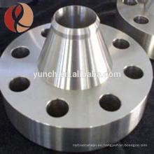 Brida de titanio GR2 para elemento calefactor con precio competitivo de alta calidad