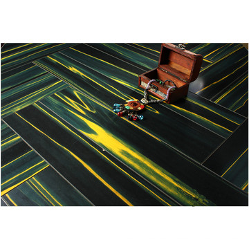 Kommerzieller 12.3mm Spiegel-Teakholz-wasserbeständiger lamellierter Fußboden
