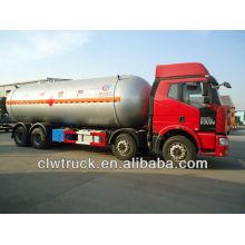 Jiefang 8x4 Q345R 34.5cbm camión de gas propano, lpg camión cisterna