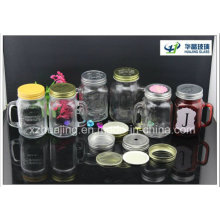 16oz 480ml Drinking Maosn Glass Jar with Handle
