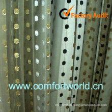 2013 Design neue türkische Vorhang hergestellt aus 75 % Polyester 25 % Viscoce mit Stickerei