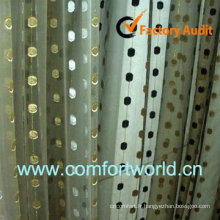 2013 nouveaux Design turc Rideau fait de 75 % Polyester 25 % Viscoce avec broderie