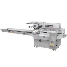 High Speed Automatic Horizontal Pillow Type Packing Machine For Scrubber Biscuit Cookie Bread Scruber
