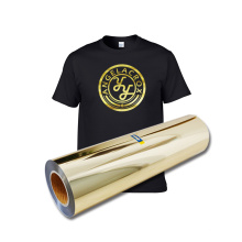 Best Gold PET soft Metallic korea quality htv rolls heat transfer vinyl bundle for t-shirt