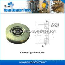 Piezas de la puerta del elevador, rodillo de la puerta, sistema de la puerta del elevador