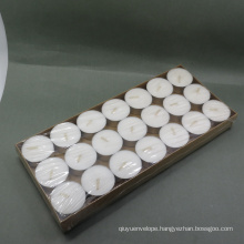 Cheap 100pcs Poly Bag White Tealight Candle