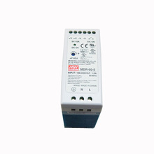MEAN WELL MDR-60-5 trilho din montado interruptor de alavanca