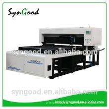 SG1218 Syngood 400w Co2 máquina de corte a laser para cortar figuras de madeira