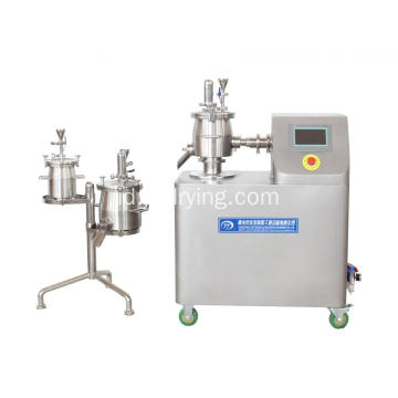 High Speed ​​Mixer / Granulator untuk Farmasi