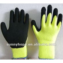 Terry Latex sandiger, handgemachter Handschuh