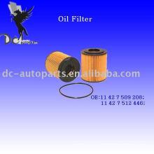Inserto del filtro de lubricante 11 42 7 509 208 para Mini